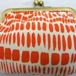 6&quot; Fabby Purse - Oran..