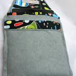 Ipad Cover - Grey Felt Wit..