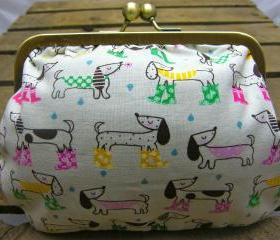 6' Fabby Purse - Puppy in Wellies